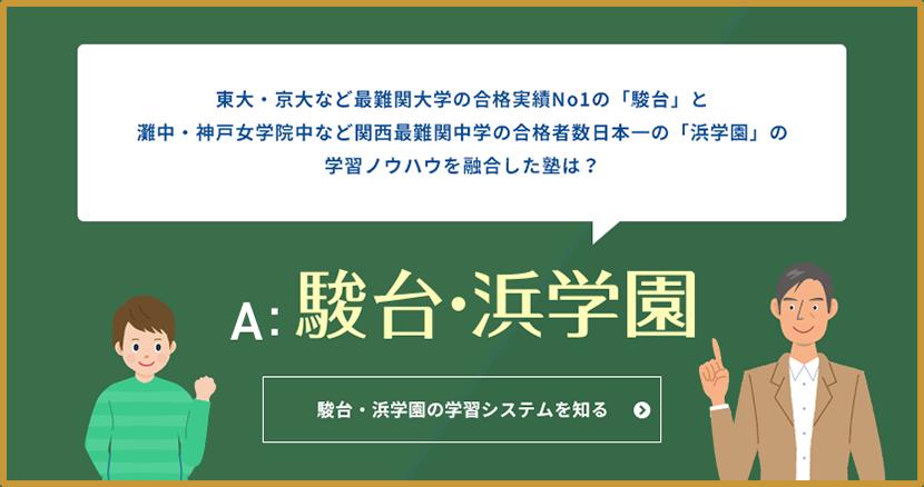 駿台・浜学園の学習システムを知る